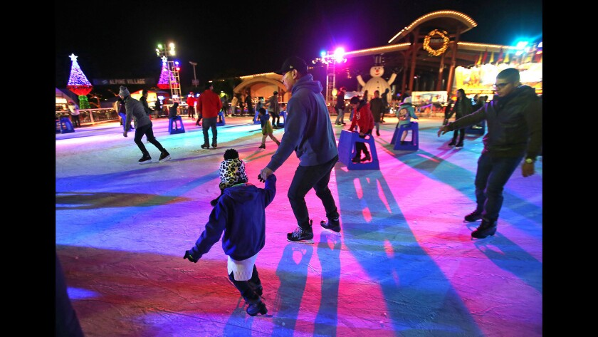 2017 Winter Fest OC delights with lights and ice