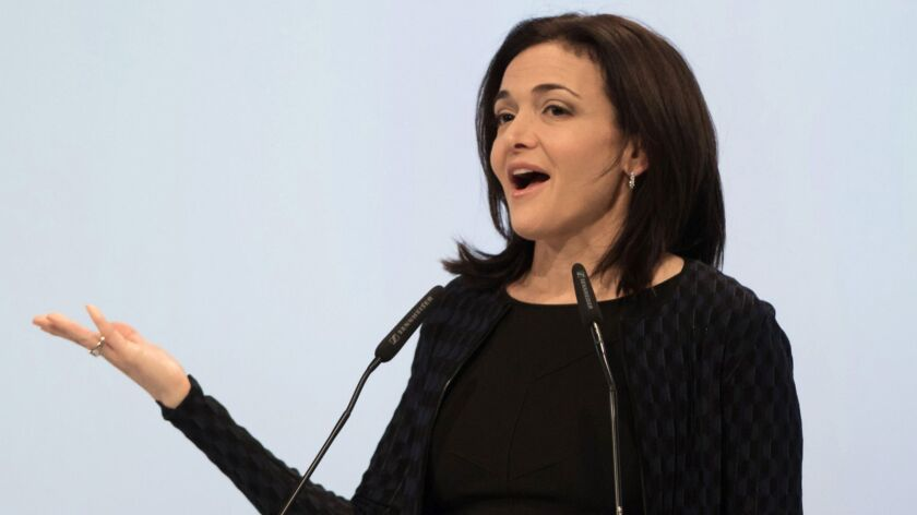 """Facebook Chief Operating Officer Sheryl Sandberg, shown last year, says advertisers are """"asking the same questions that other people are asking."""""""