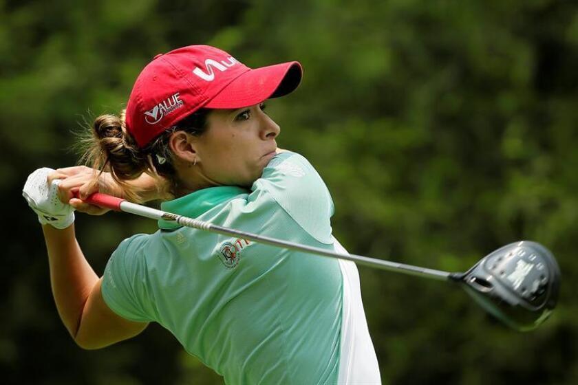 Gaby López, golfista mexicana. EFE/Archivo