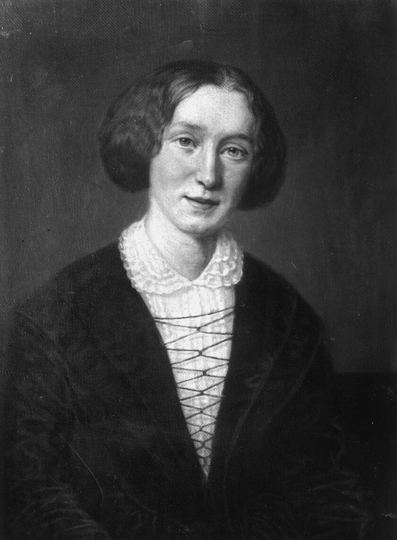 English novelist George Eliot (1819-80).