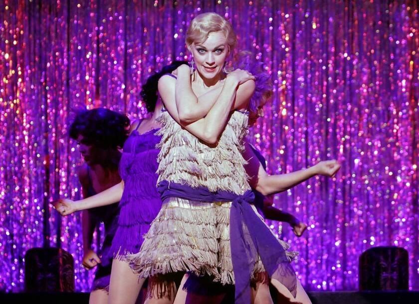 """Lisa O'Hare performs in the 2011 Reprise revival of the musical """"Cabaret"""" at Freud Playhouse."""