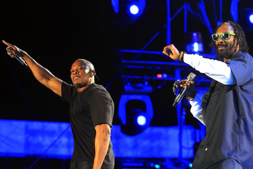 Dr. Dre and Snoop Dogg | Day 3 | 2012