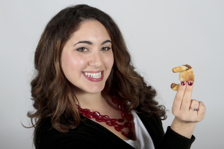 Samantha Ferraro from Seal Beach made cherry pistachio ruguelach cookies.