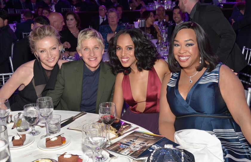 Dinner and Show - 26th Annual GLAAD Media Awards