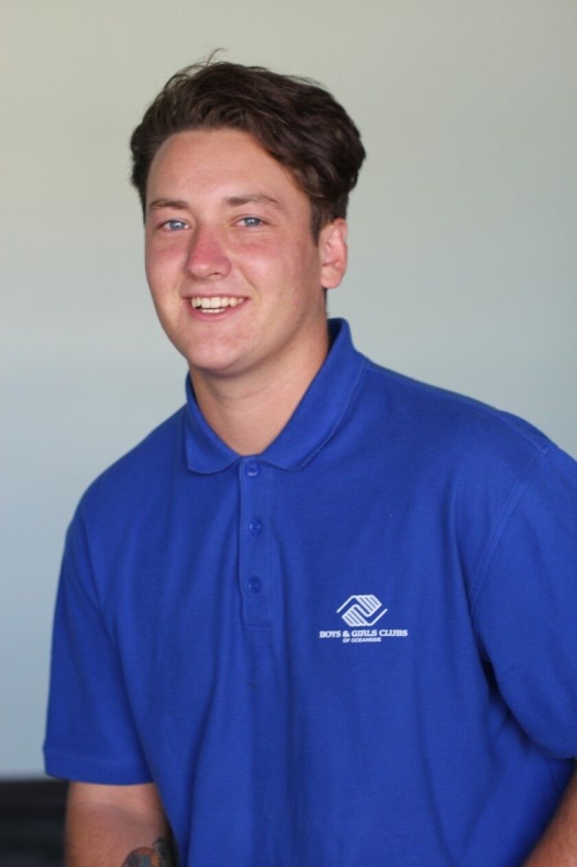 Hunter Meyer, San Diego Youth of the Year, is set to compete against outstanding Boys & Girls Club members from across California for the state title in a virtual competition April 15.