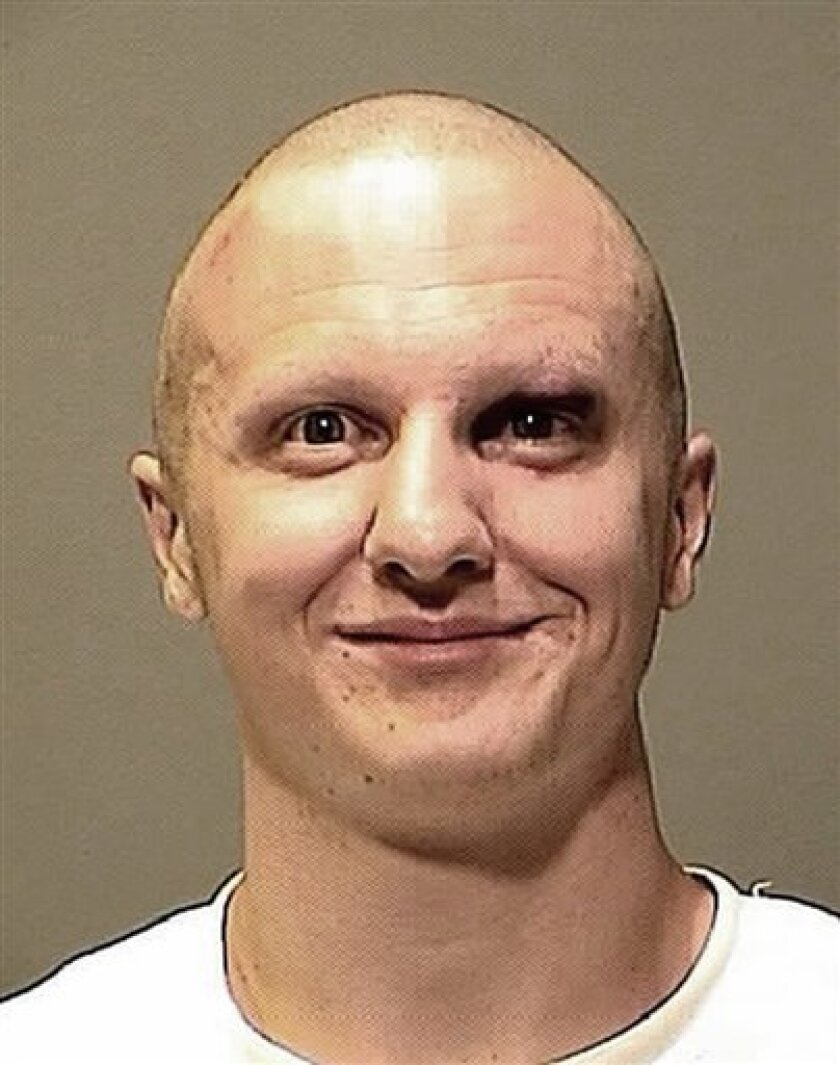 FILE - This Jan. 8, 2011 file photo provided by the Pima County Sheriff's Office shows Jared Loughner. A federal judge, on Wednesday, June 30, 2011, rejected a plea by attorneys for the Tucson shooting rampage suspect and ruled that Jared Lee Loughner can be forced to continue taking anti-psychotic drugs. (AP Photo/Pima County Sheriff's Department via The Arizona Republic, File)