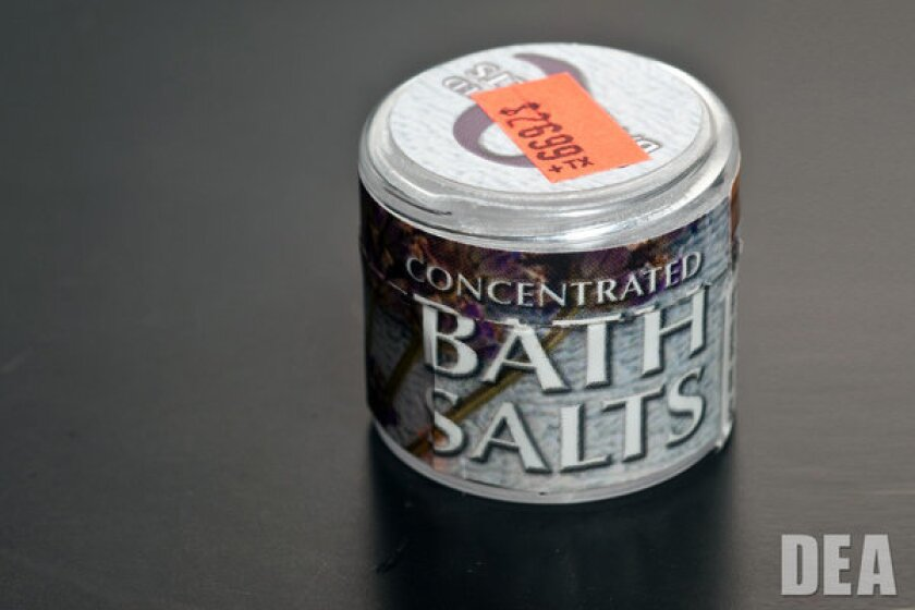 """The Drug Enforcement Administration banned several drugs marketed as """"bath salts"""" after a rise in overdose reports in 2011."""