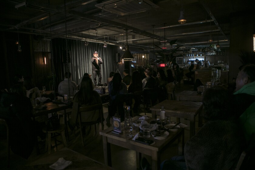 Korean American Stand-up Comedian in Seoul