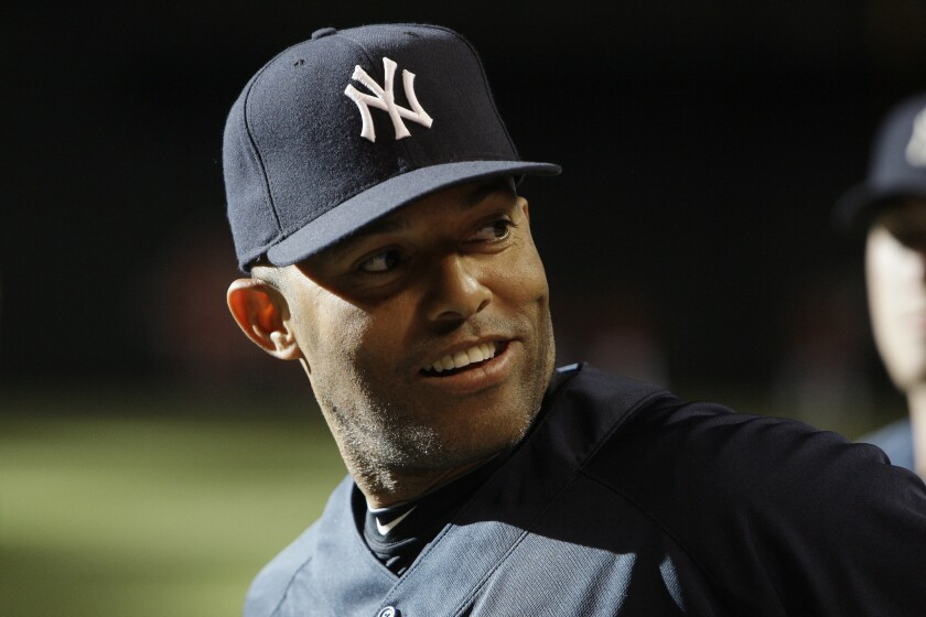Mariano Rivera, shown in 2010, could be the first person elected unanimously to the Baseball Hall of Fame.