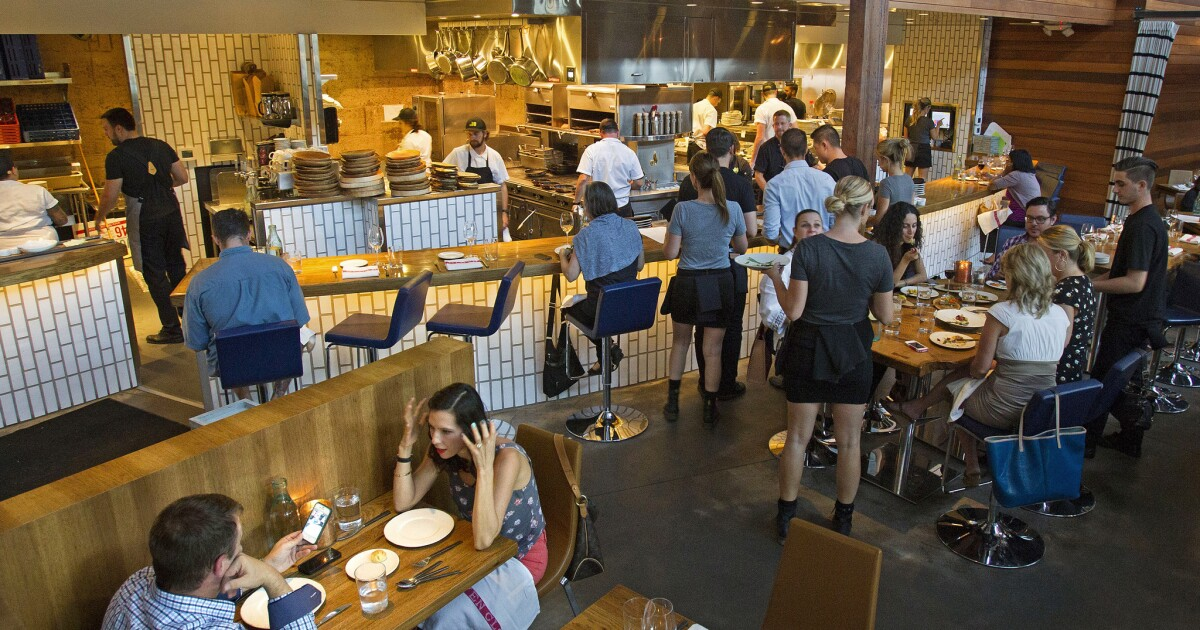 America's hottest 100 restaurants? 25 are in California, 3 in Las Vegas