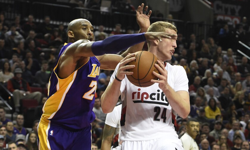 Kobe Bryant's last stop at Portland: usual praise and 'ultimate compliment' of boos