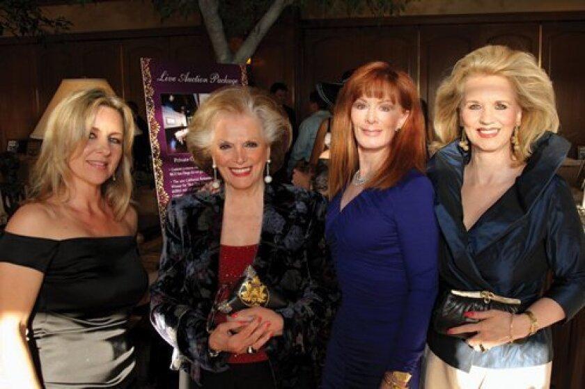 Andrea Carrier, Connie McNally, Dana Falk, Jensine Bard