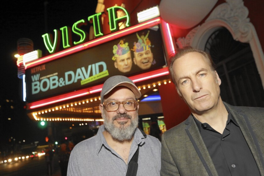 David Cross, Bob Odenkirk