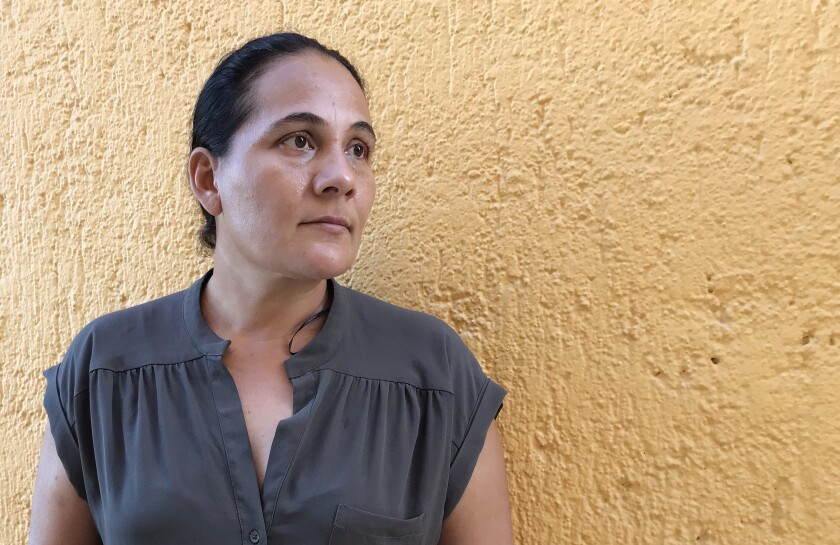 Valeria Muñoz of Los Cabos lost her husband, Armando Covarrubias, to COVID-19 in late November.