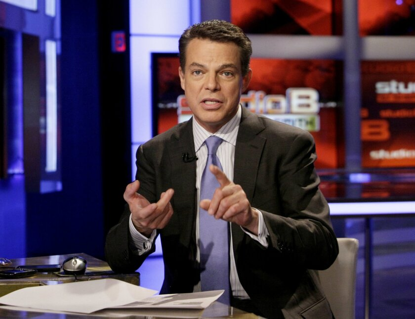 FILE - This May 24, 2011 file photo shows Fox News Channel anchor Shepard Smith in New York. Smith is receiving criticism after he speculated on air that Robin Williams may have been a coward for committing suicide. Officials say Williams appeared to have hanged himself at his home on Monday, Aug. 11, 2014, in the San Francisco Bay area. Fox News has made no comment on Smith's remarks and did not immediately respond to messages Tuesday. (AP Photo/Richard Drew, File)