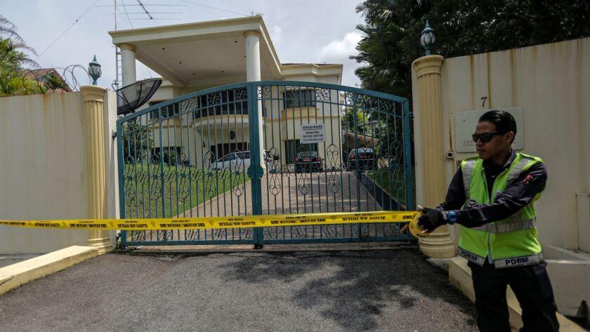 North Korean Embassy in Malaysia