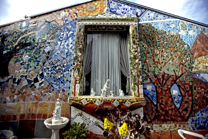 A mosaic-loving family's journey of many tiles - Los Angeles