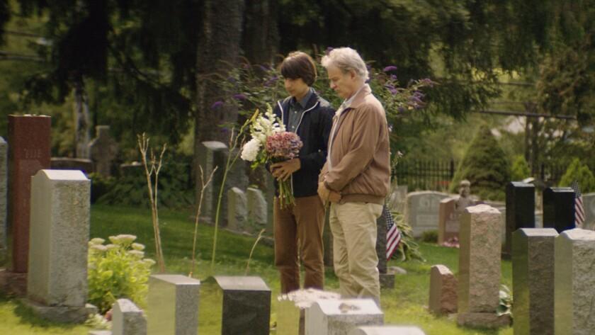 "Demetri Martin, left, and Kevin Kline in the film ""Dean."""