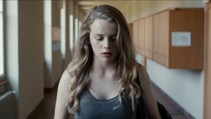 """Luna Wedler in the movie """"Blue My Mind."""""""