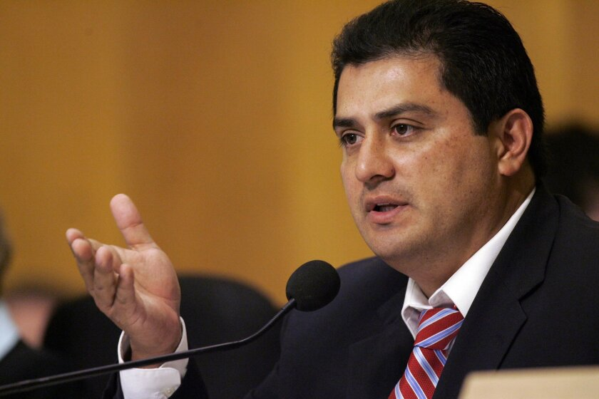 San Diego Assemblyman Ben Hueso in a 2010 photograph.