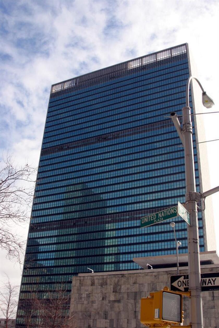 Fotografía de archivo de la sede de la Organización Nacional de las Naciones Unidas (ONU), en Nueva York. EFE/Archivo