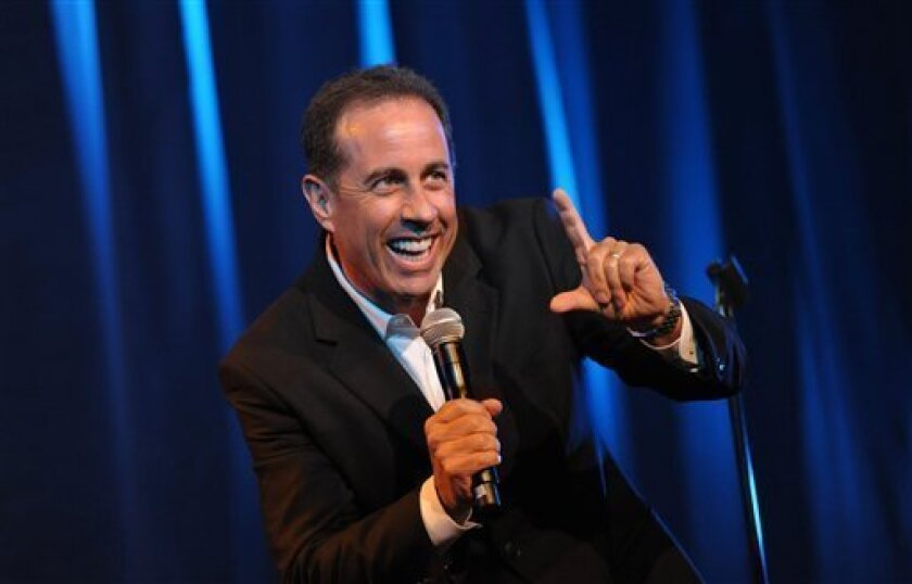 America's premier comedian, Jerry Seinfeld, will perform two shows on Friday at the San Diego Civic Theatre.