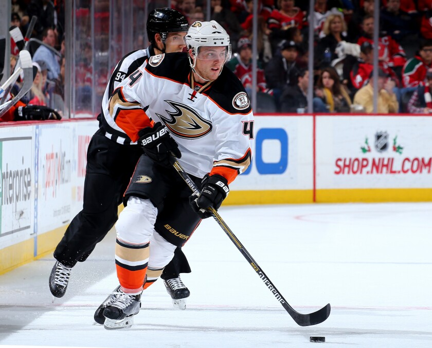 Ducks play the Flames at Calgary on Tuesday