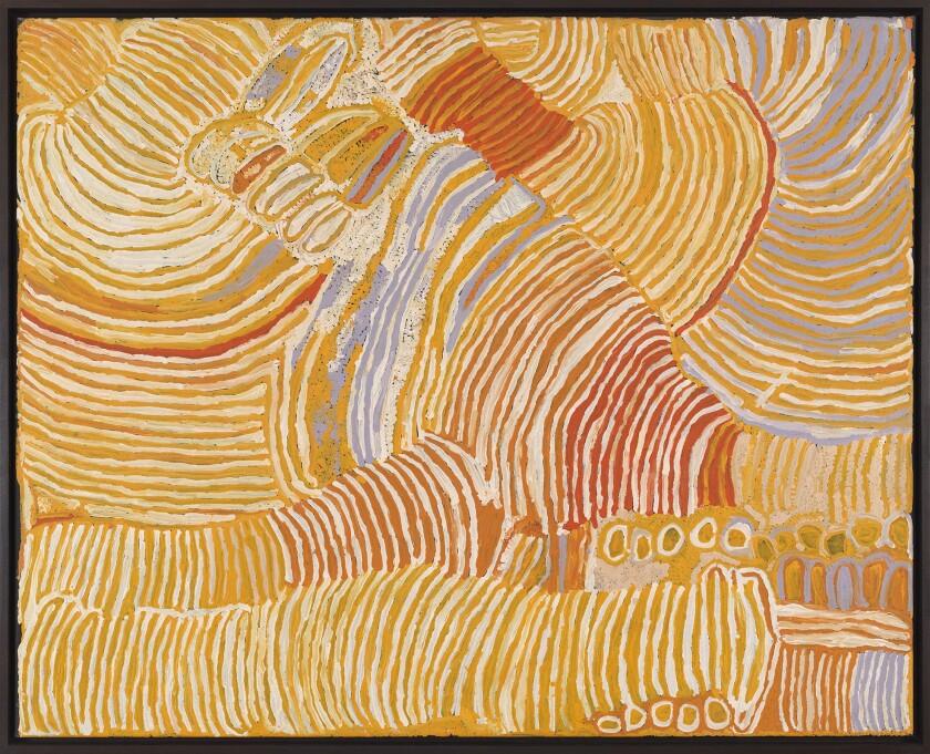 Makinti Napanangka — Australian Desert Painters at Gagosian
