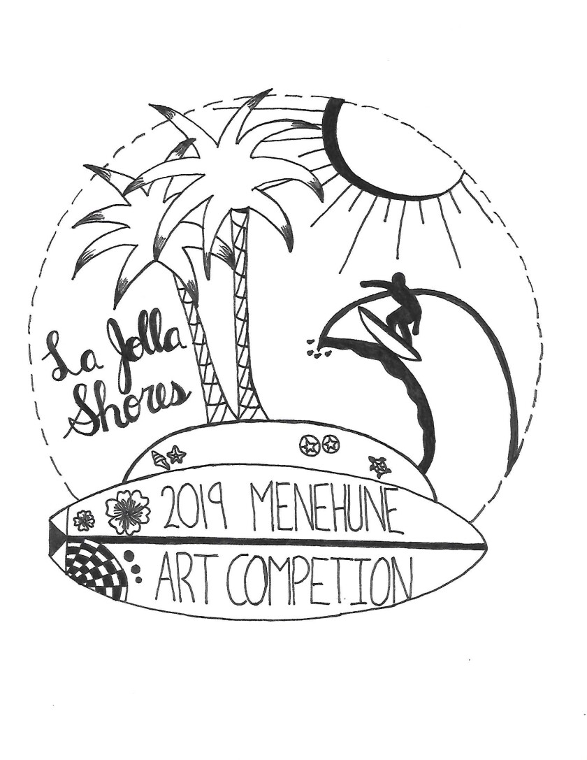 This is the 2019 winner of the Menehune art contest. The deadline for this year's submissions is Friday, May 29.