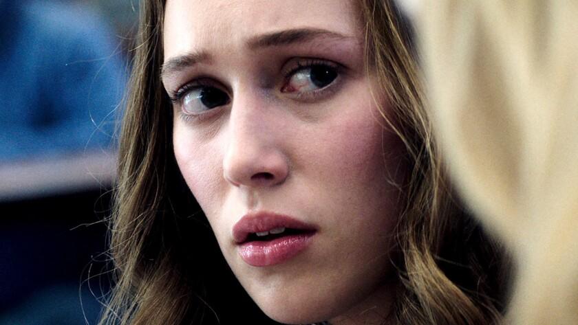 "Alycia Debnam-Carey in the movie ""Friend Request."""
