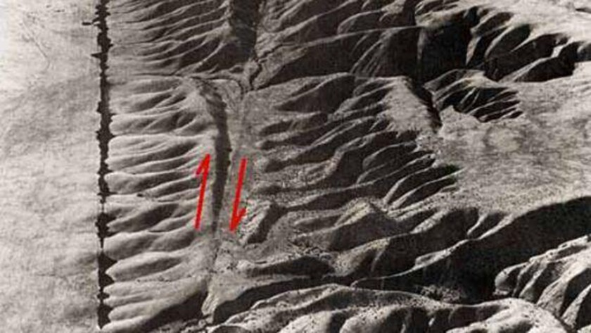Image showing San Andreas fault