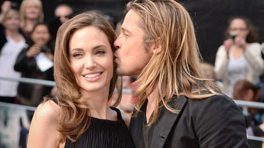 Jolie y Pitt habían estado casados con, y divorciado de, estrellas antes.