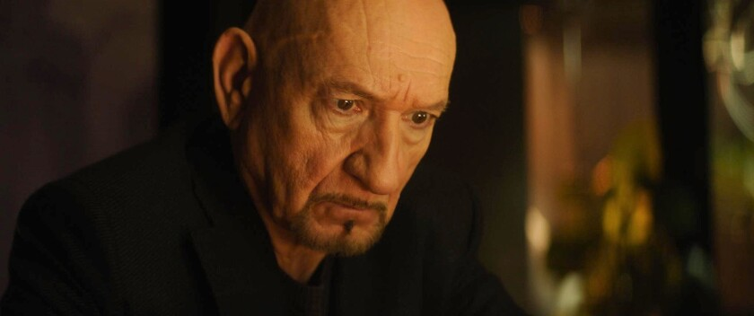 Ben Kingsley, 'Spider in the Web'