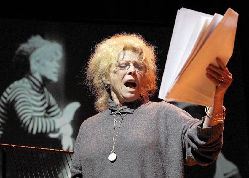 British actress Billie Whitelaw, shown here in 2006, collaborated closely with Irish playwright Samuel Beckett and appeared on stage and screen for decades. She died in a London nursing home at the age of 82.