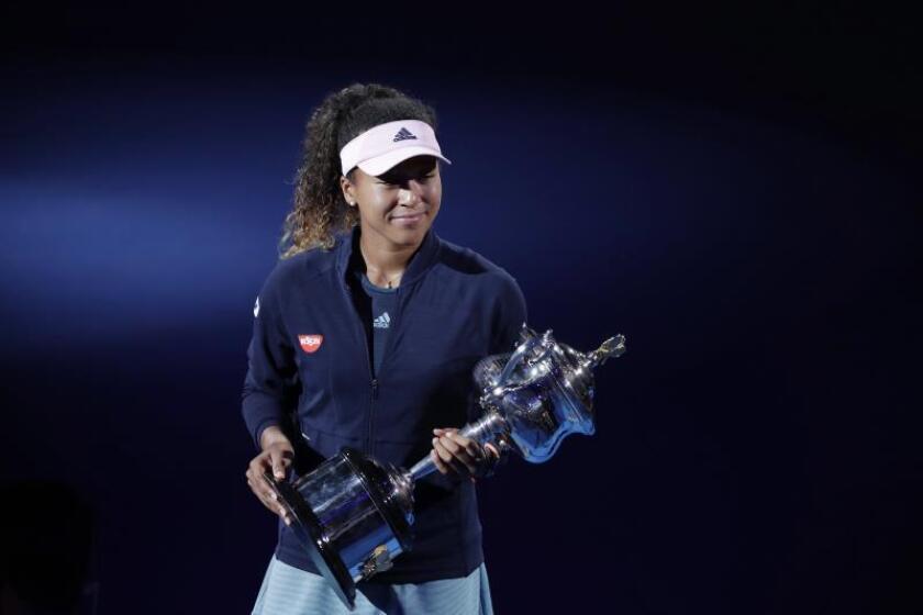La tenista Naomi Osaka. EFE/Archivo