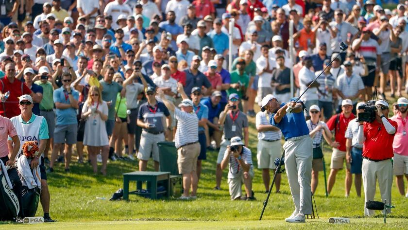 PGA Championship golf tournament in St. Louis, Missouri, USA - 11 Aug 2018