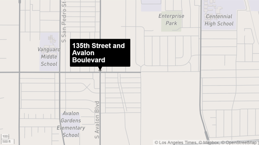 2 dead, 1 wounded in shooting near Compton - Los Angeles Times