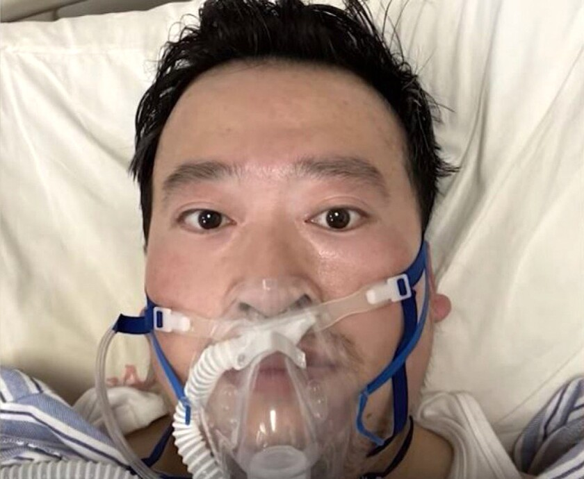 Li Wenliang, the doctor who was silenced by police for trying to share news about the new coronavirus long before Chinese authorities disclosed its full threat, died Feb. 6.