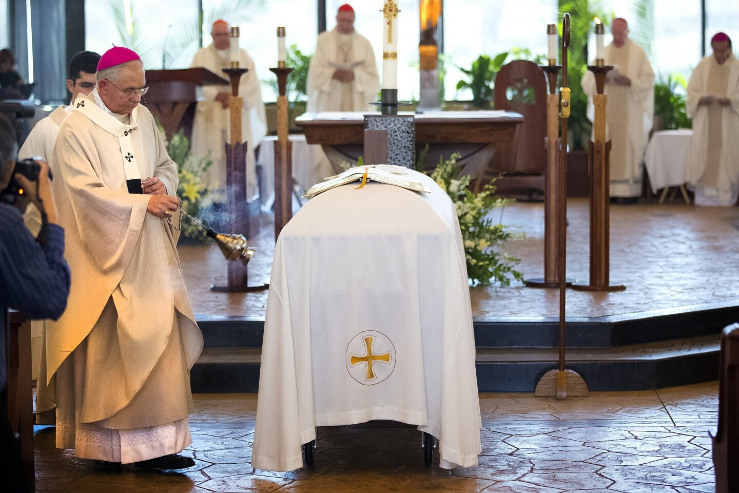 Bishop Flores laid to rest