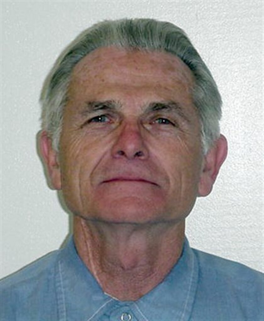 FILE - This undated file photo of Bruce Davis was provided by the California Department of Corrections and Rehabilitation.