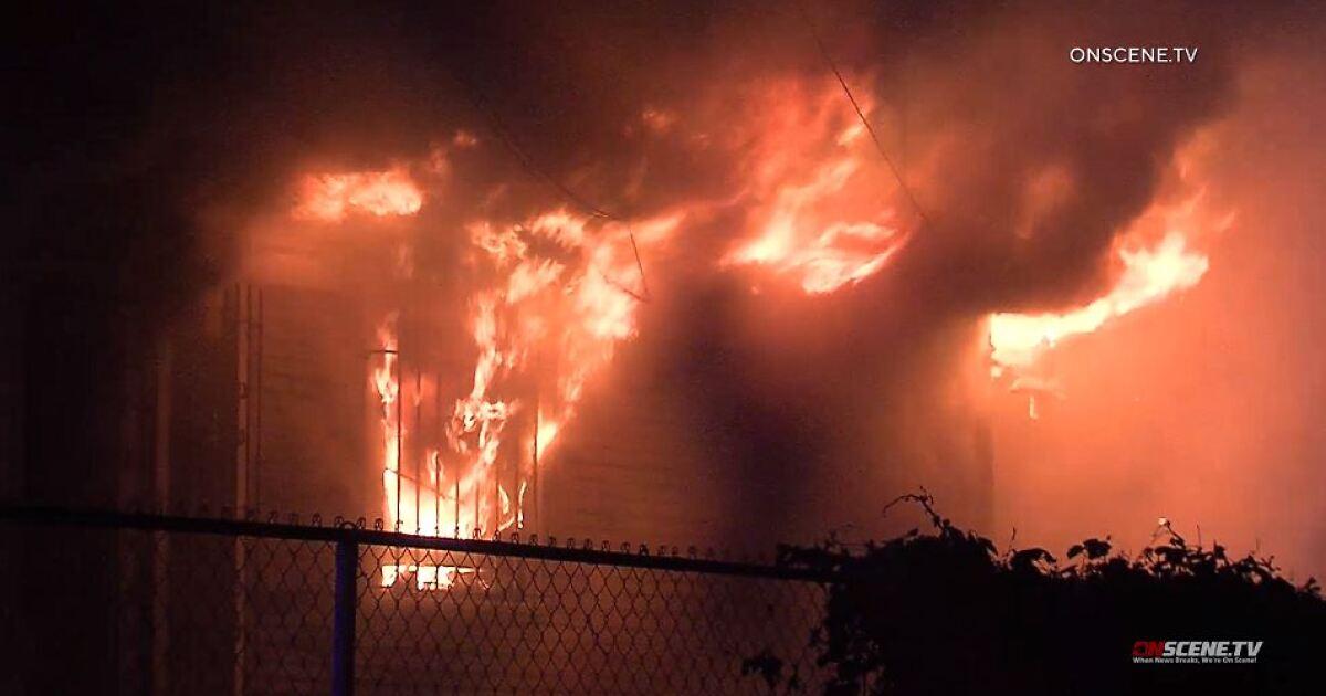 6犬を失ステートポリテクニックハウスの火災