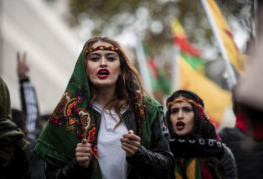 Germany Turkey Protest
