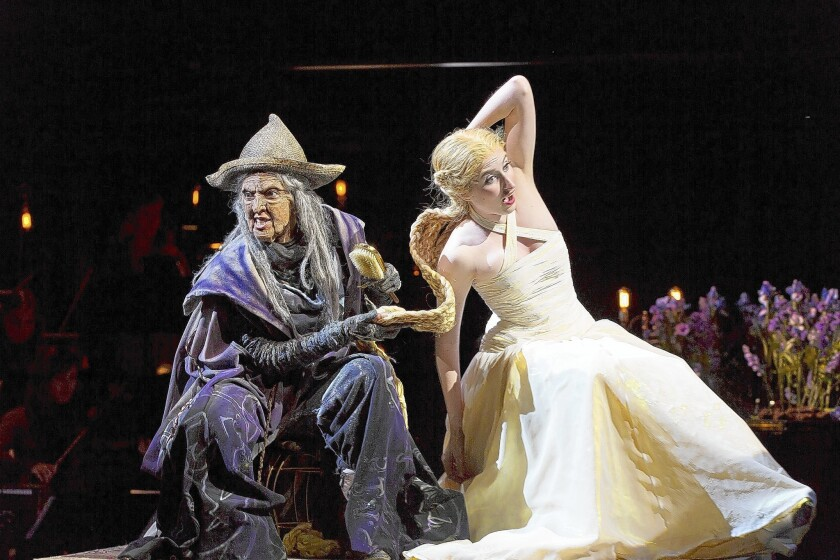 Oregon Shakespeare Festival's version of the Stephen Sondheim-James Lapine 'Into the Woods' has the richness of fairy tales