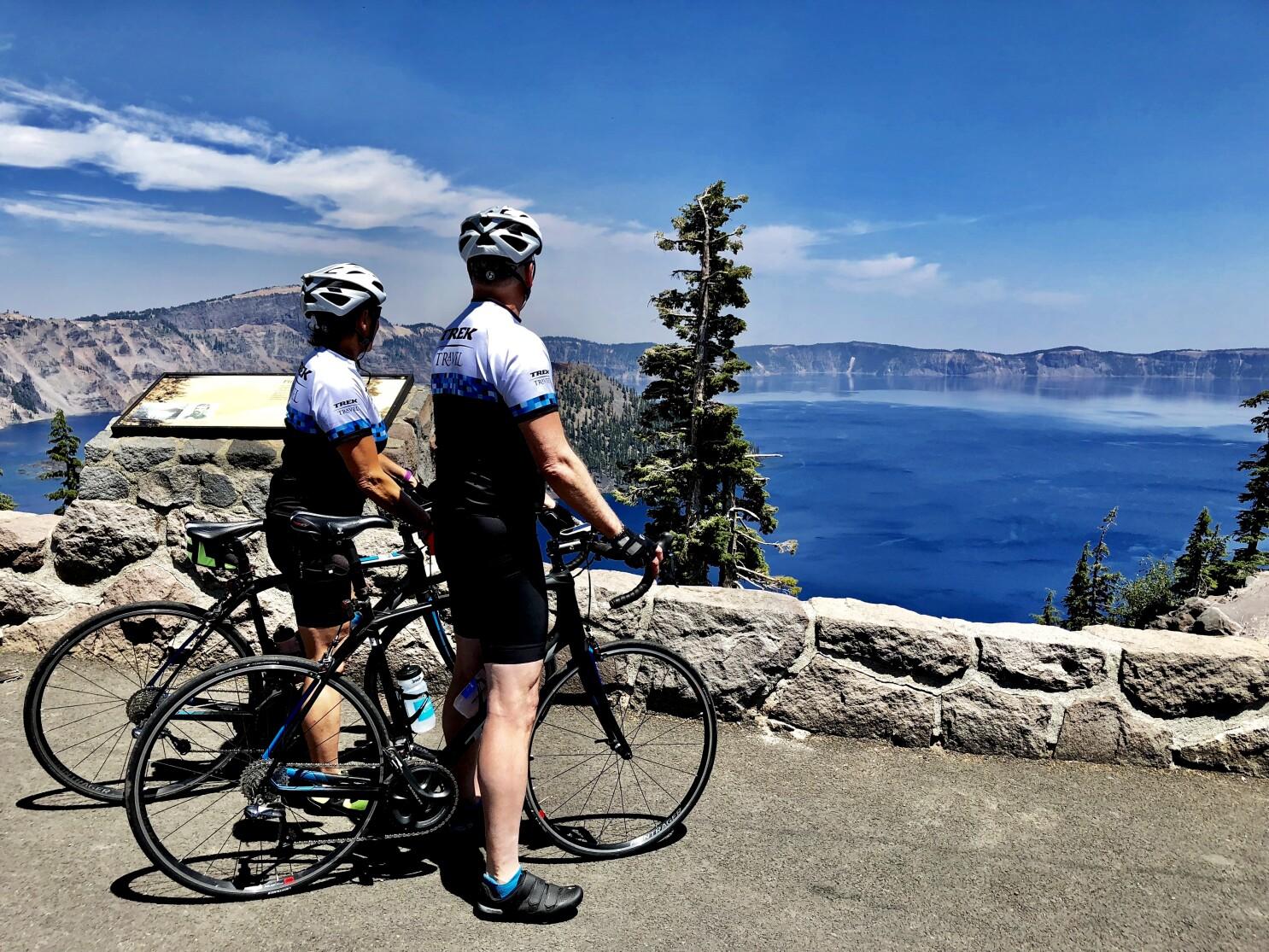 A little e-bike cheating makes Oregon Cascades bike tour a gem of a cycling trip