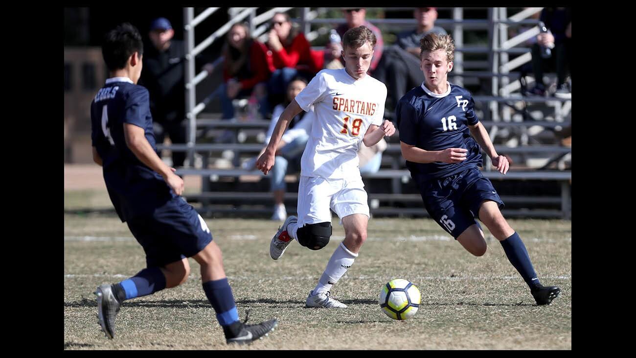 Photo Gallery: Flintridge Prep boys soccer vs. La Cañada High School