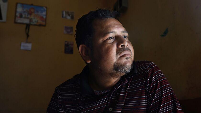 SAN PEDRO SULA, HONDURAS--NOV.7, 2018--Pastor Danny Pacheco has spent the last five years working to