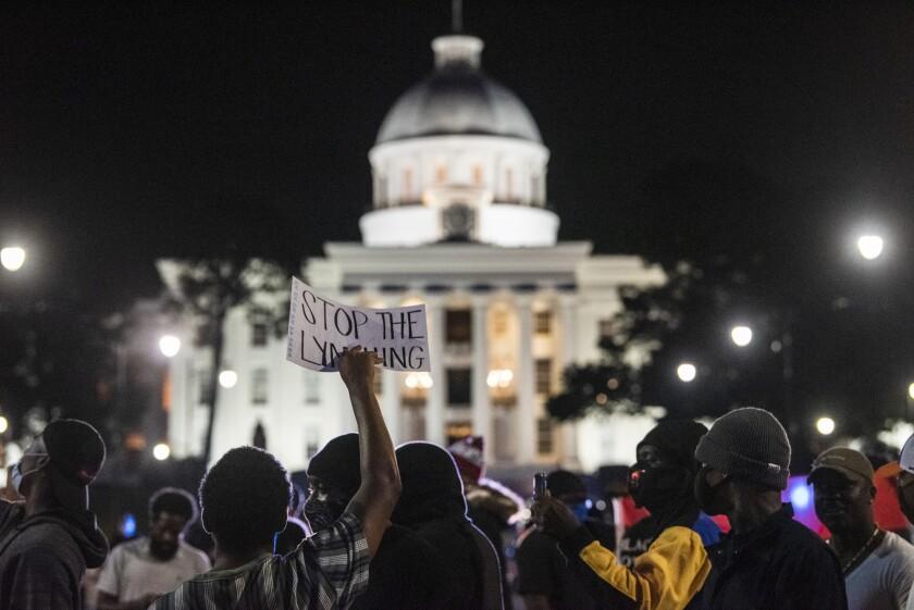 America Protests Alabama