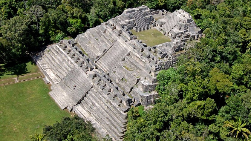 Caracol is a large Mayan archaeological site located in Belize. A teenager in Canada pored over satellite images and thought he found the site of another ancient city, but experts have cast doubt on the discovery.