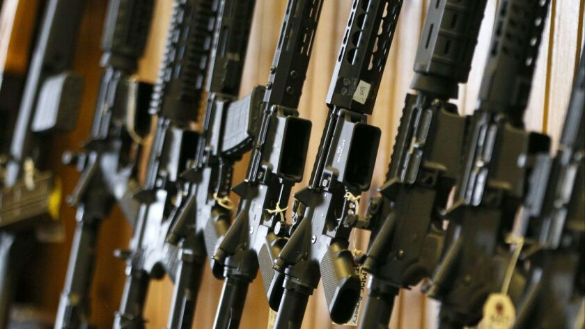 Op-Ed: The assault weapons ban didn't work  A new version won't