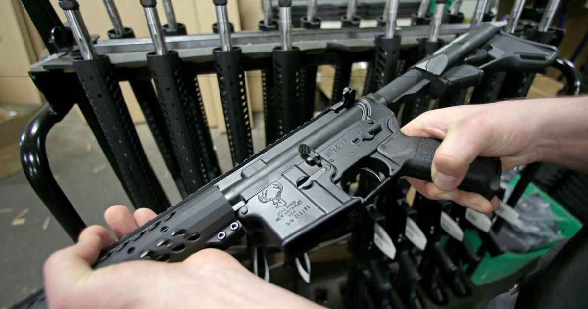 Column: Want more gun control? Don't make it about AR-15s